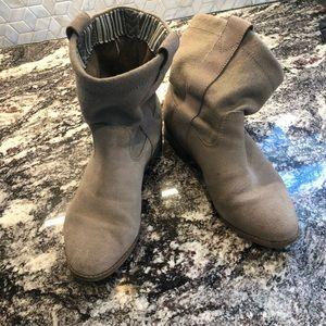 TOMS slip-on boots!